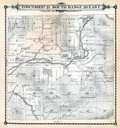 Page 103, Pleasant Valley, Springville, Tule River Indian Reservation - Part 1, Tulare County 1892